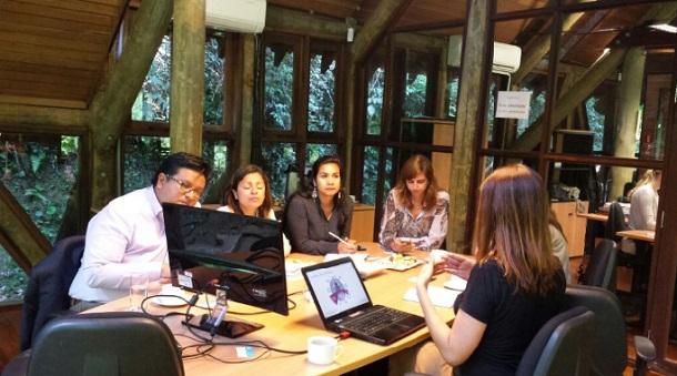 Delegação peruana visita o Instituto LIFE para intercâmbio de experiências