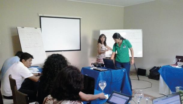 Workshop Ecosystem Alliance – IUCN (Bolívia)