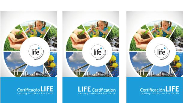 Folder sobre a Certificação LIFE