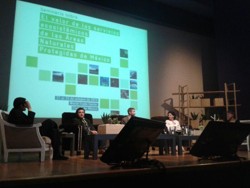 LIFE participa de seminário sobre ecossistemas no México