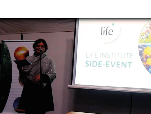 Instituto LIFE realiza side-event durante a COP12