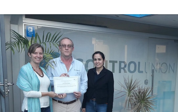 Accreditation of Control Union Paraguay