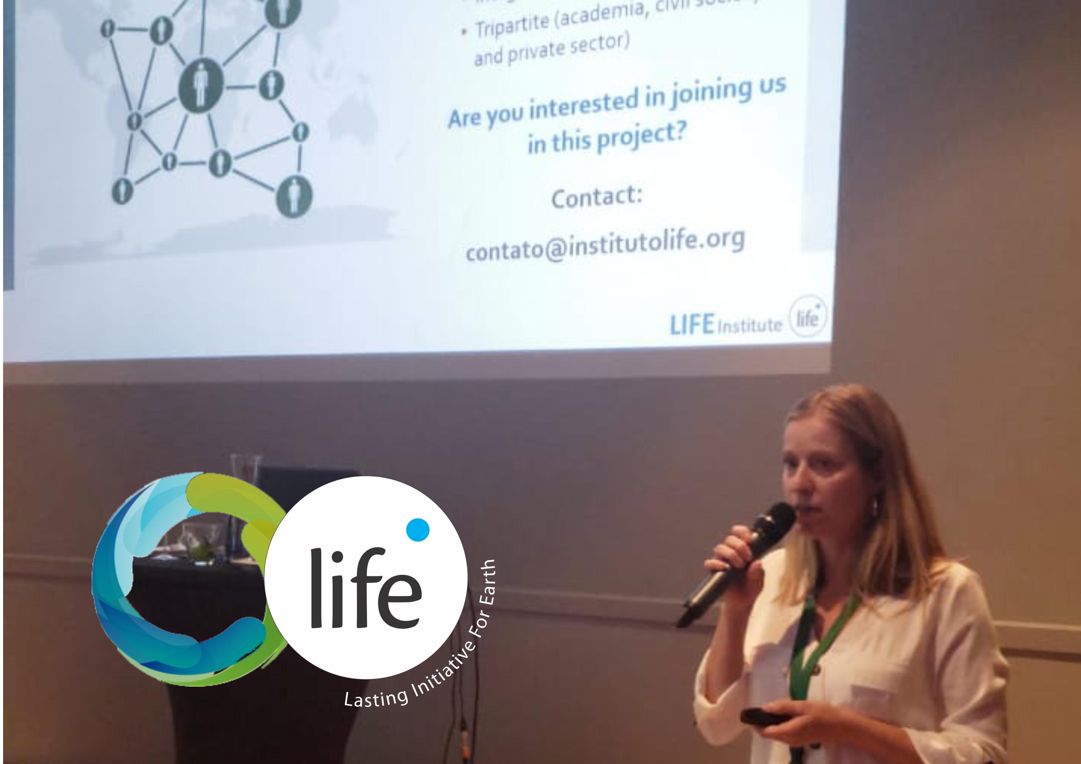 Instituto LIFE apresenta seu trabalho em reunião de governos na Holanda