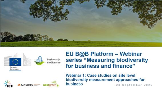 Instituto LIFE apresenta case da Posigraf em evento da Plataforma de Negócios e Biodiversidade da União Europeia